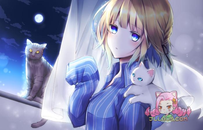 [RJ225946]猫と彼女と1週間 和她与猫的一周[MP3+WAV+汉化LRC][1.02G]